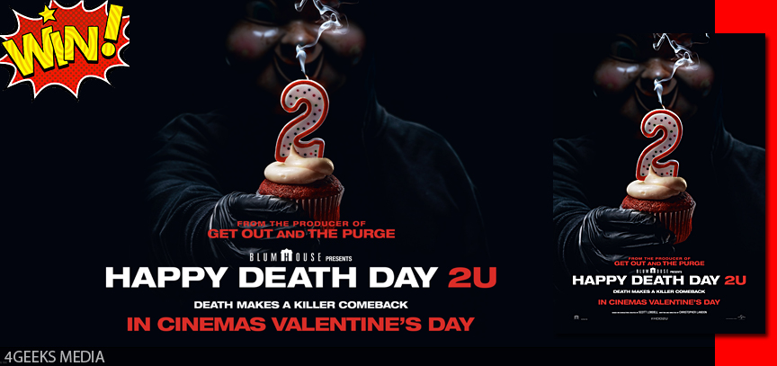 WIN: Double Movie Passes To See Happy Death Day 2U – Geekery